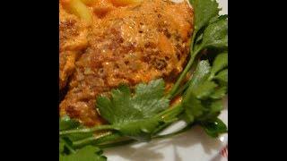 Ужин для всей семьи.Голубцы ленивые- пальчики оближешь и салат из капусты.