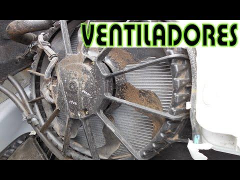 Como diagnosticar los electroventiladores del radiador y  A/C