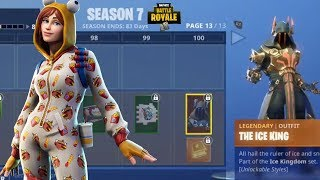 NEW SEASON 7 BATTLE PASS GRIND WITH SUBSCRIBERS (Fortnite Battle Royale)