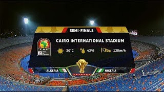 AFCON 2019 | Algeria vs Nigeria | Highlights