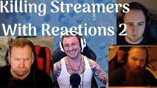 PUBG - Killing Twitch Streamers With Reactions 2
