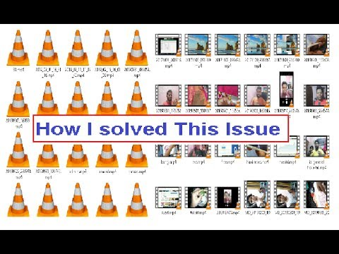 Show Thumbnails Instead Of Icons In VLC Videos 2019