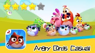 Angry Birds Casual Level 51-52 Walkthrough Sling birds to solve puzzles! Recommend index four stars