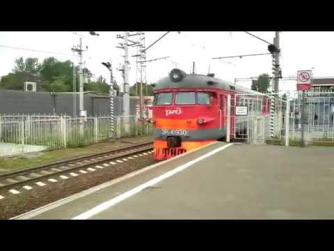 Поездка в электропоезде ЭР2К-930