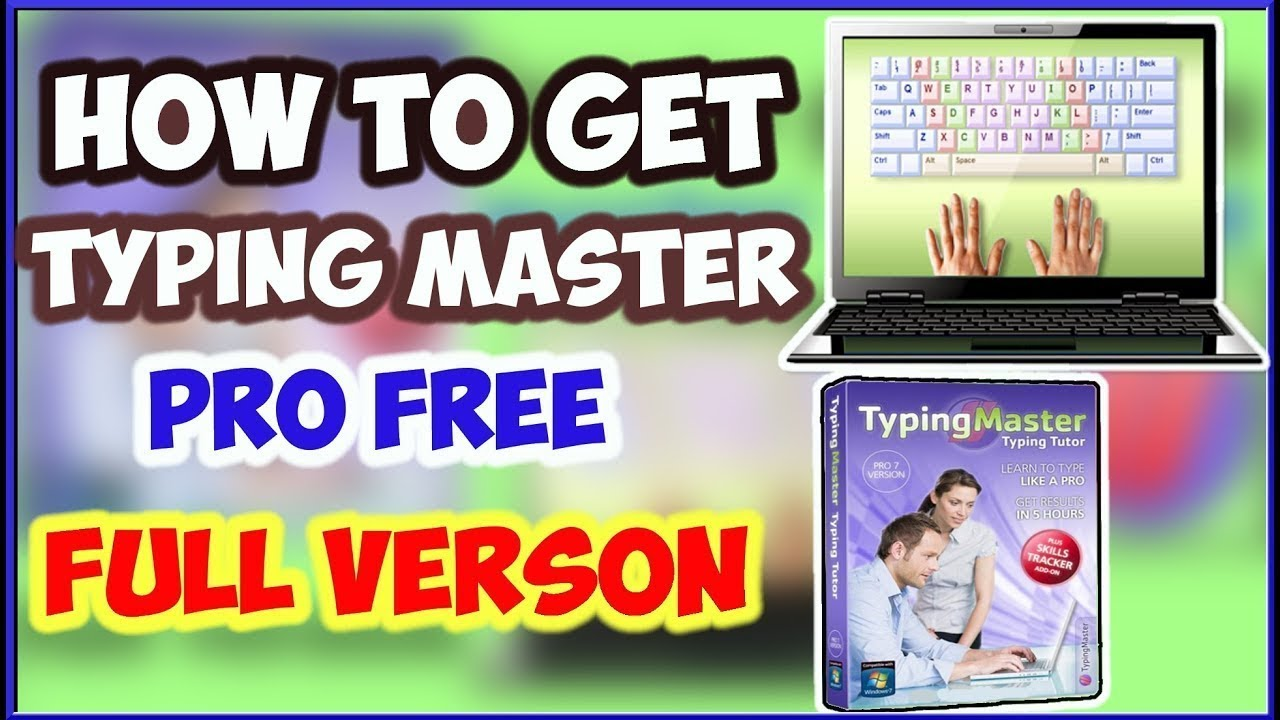 How To Download Typing Master Pro Free With Serial Key ...