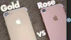 iPhone 7: Rose Gold or Gold?