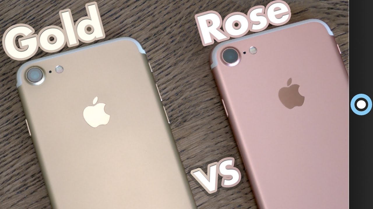 IPhone 7 Rose Gold Or