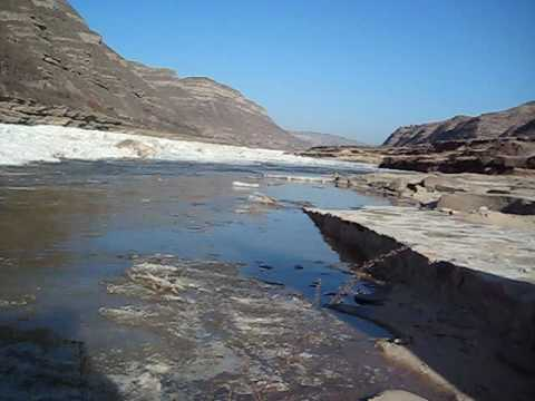 the Yellow River is frozen (winter )