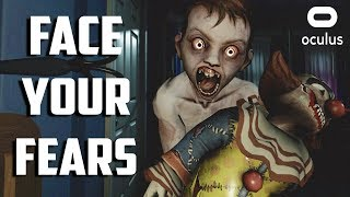 NOT SAFE IN MY OWN BED • FACE YOUR FEARS VR - OCULUS RIFT GAMEPLAY