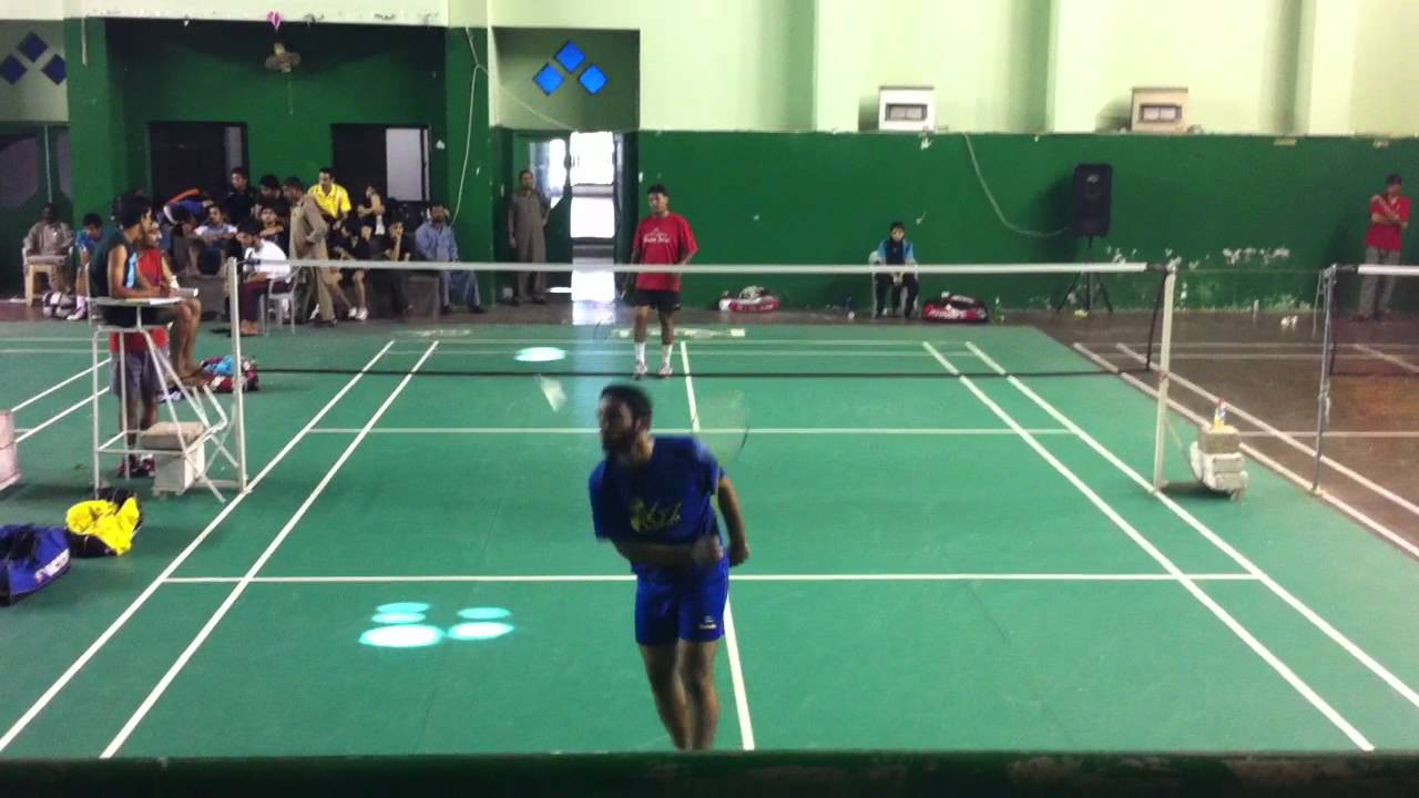 Pakistan Badminton Singles Match Akram Vs Sb Youtube