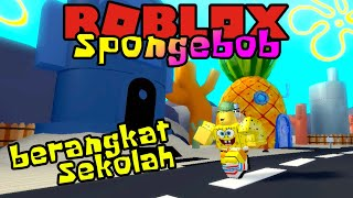 SPONGEBOB DEPARTS TO SCHOOL! 🤣-ROBLOX Spongebob United Kingdom