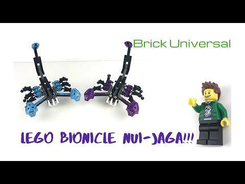 LEGO Bionicle Nui-Jaga Review!!!