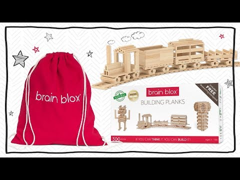 What Are Brain Blox Wooden Building Planks?