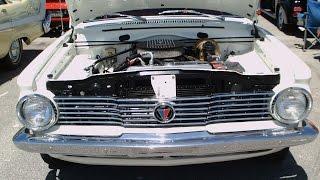 1964 Plymouth Valiant V200 Station Wagon Wht DaytonaSpdwy032417