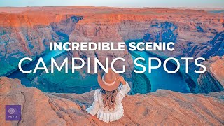 Top 10 Scenic Camṗing Spots | IMMERSE YOURSELF IN AWE in these Best Places to Camp in the USA