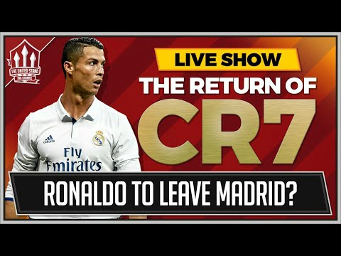 RONALDO TO LEAVE MADRID FOR MANCHESTER UNITED