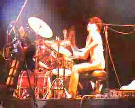 Cindy blackman - Kravitz groove - drummer live 2007