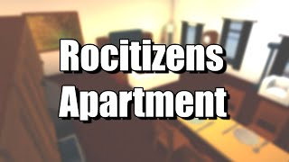 My First Rocitizens Apartment!! • Roblox