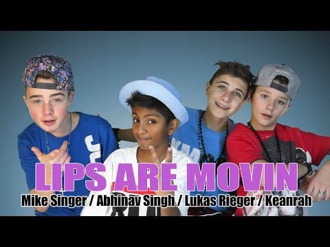 ABHINAV SINGH / MIKE SINGER / LUKAS RIEGER / KEANRAH 'Lips Are Movin' prod. by Vichy Ratey