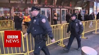 New York City Police say they are responding to reports of an explo...