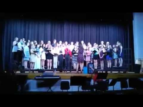 Mahanoy Area High School Chorus 2015