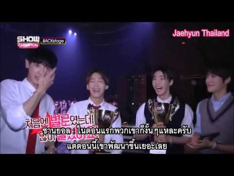 [THAISUB] 150620 Show Champion Backstage - Jaehyun & Doyoung Smrookies With EXO