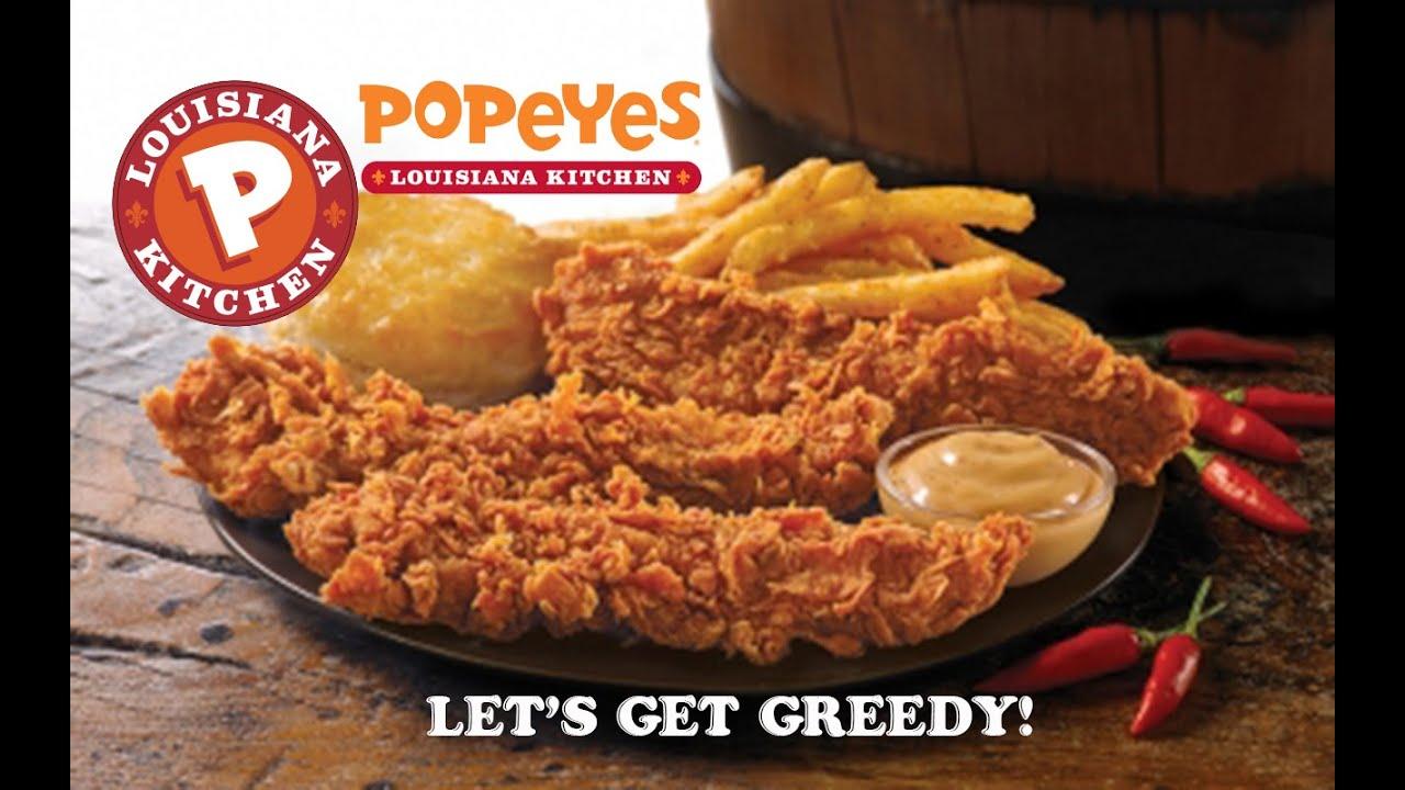 Popeyes Louisiana Kitchen Food Popeye's New Tabasco Pepper Barrel Chicken Tenders On Let's Get