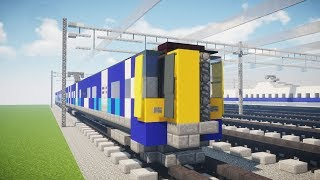 Minecraft ScotRail BR Class 380 Desiro Train Tutorial