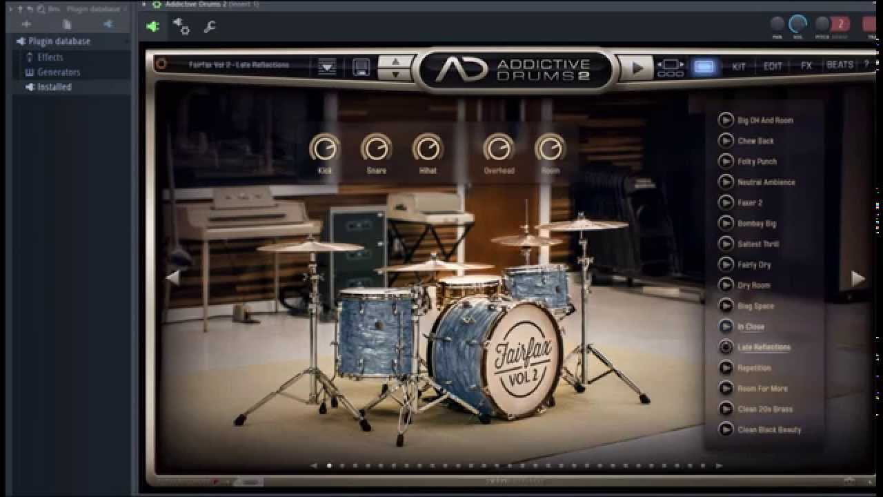 Addictive Drums 2 - FairFax Vol  2 Review