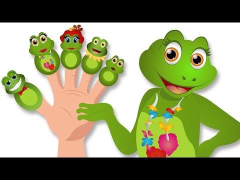 Sapo dedo de la familia | Poemas infantiles para niños y canciones