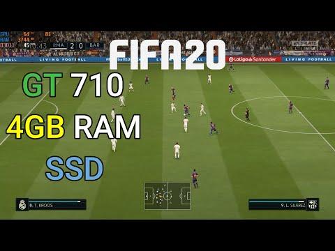 FIFA 20 PC Gt 710 | 4GB Ram | SSD | Med/Low Settings | Windows 11