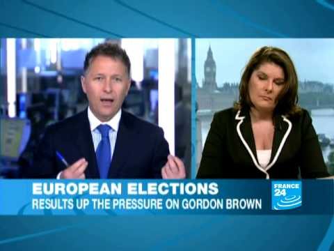 UK - European elections: results up the pressure on Gordon Brown