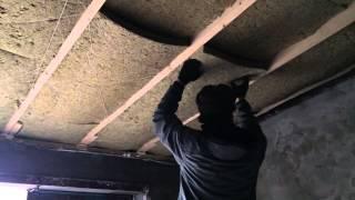 видео утепление крыши гаража изнутри