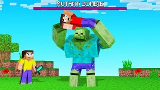We FOUND The MOST OVERPOWERED ZOMBIE In MINECRAFT (Mutant)