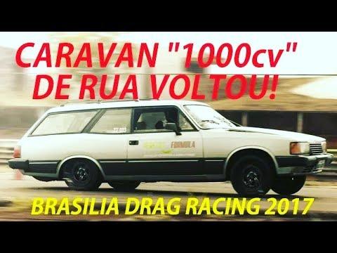 CARAVAN 1000CV DE RUA (PROJETO) ACELEROU NA ARRANCADA!
