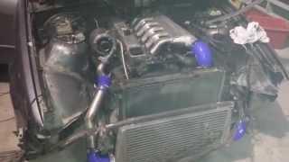 BMW 325tds  with Garrett GT2260v Variable Geometry Turbo