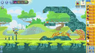 Angry Birds Friends Tournament Mania 2-3 ● LEVEL 2 ● 250 K HD ● Week 204 ●  POWER UP