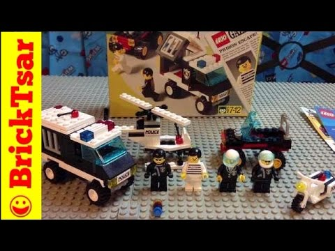LEGO Set 1786 Jailbreak Joe - Town and city police theme from 1995