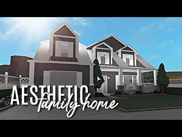 Roblox | Bloxburg | Aesthetic Family Home