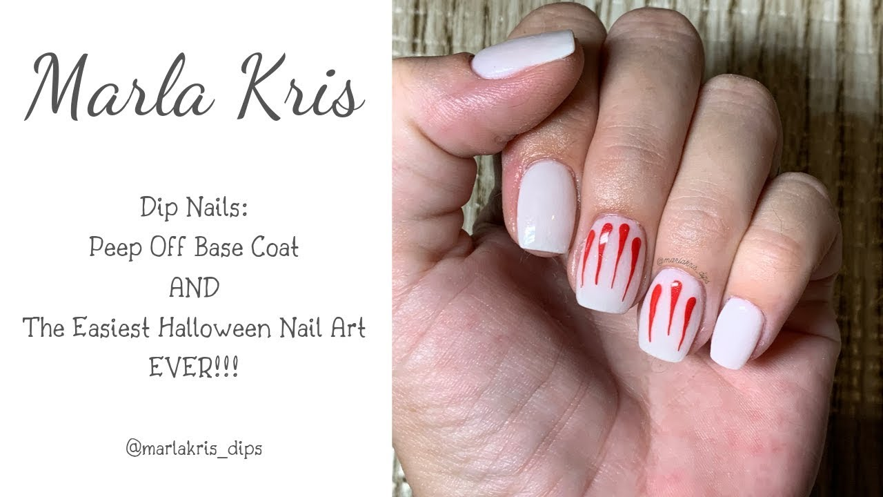 Dip Powder Nails: How I Use Peel Off Base AND The EASIEST ...