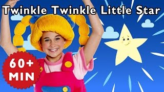 Twinkle Twinkle Little Star and More | Nursery Rhymes from Mother Goose Club!