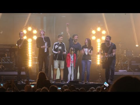 Max Giesinger Live @ Canaletto - Stadtfest Dresden 2017 - Teil 2