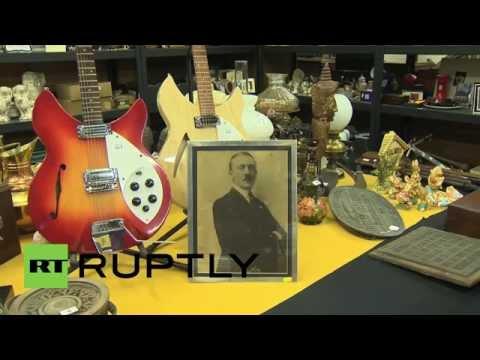 UK: Signed Hitler portrait goes on sale - for a staggering $30,000!