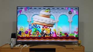 닌텐도 위 AV케이블 HDMI 변환 TV출력 65인치 …