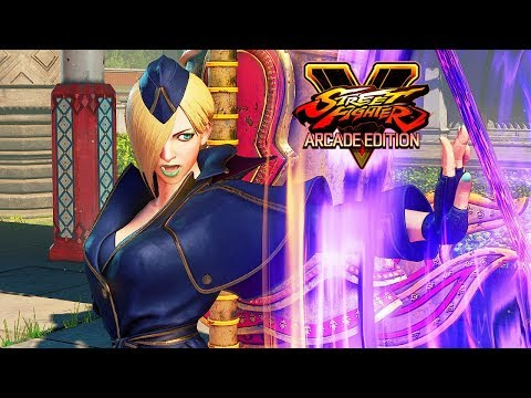 Street Fighter 5 Arcade Edition - FALKE Reveal Trailer @ 1080p (60ᶠᵖˢ) HD ✔
