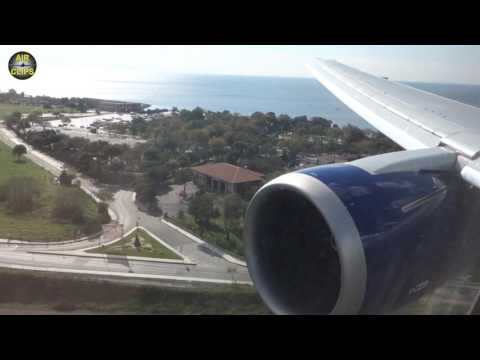 Beautiful Boeing 767 Istanbul Landing on a sunny day! [AirClips]