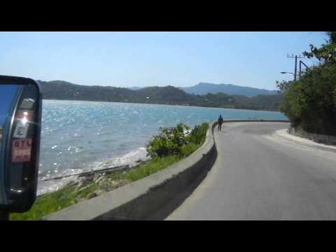 The drive through Lucea