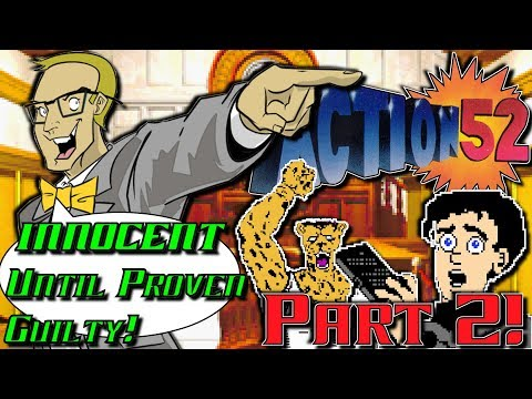 Action 52 (NES/Nintendo) Part 2 ...and now...The Cheetahmen! - INNOCENT Until Proven Guilty!