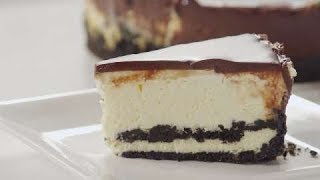 Chocolate Covered White Chocolate Cheesecake | EASY TO LEARN | QUICK RECIPES