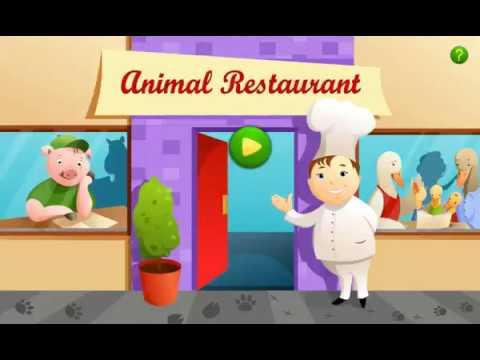 Играем в ресторан для животных. Animal restaurant.